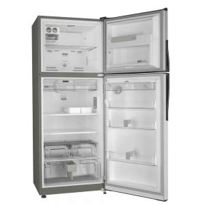 Nevera Whirlpool WRW45AKTWW Top Mount panel touch abierta 16 pies cubicos congelador superior
